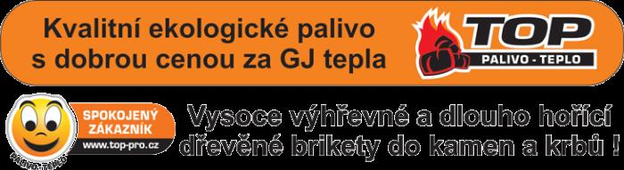 Kvalitní ekologické palivo s dobrou cenou na GJ tepla - dřevěné brikety