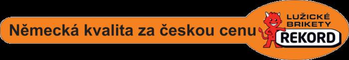 Německá kvalita za českou cenu - Brikety Rekord